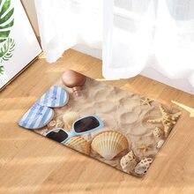 Напольный коврик для стола стула пляжный кухонный с принтом