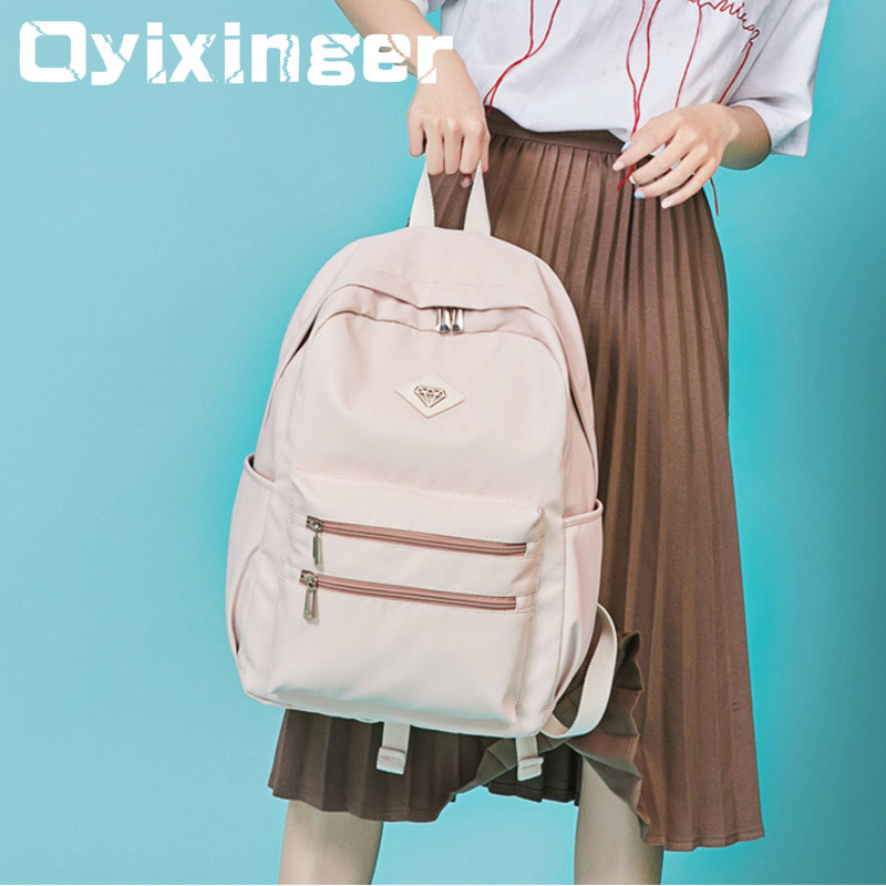 College Student Backpacks Kids Woman Trend Both Shoulders Bag Woman Backpack Children Girls School Bags For Boys Mochila Escolar