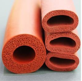 35x55 мм пенопластовый силиконовый шланг вспененная Труба Губка корпус красный пенопластовый силиконовый трубка высокотемпературный эластичный шнур