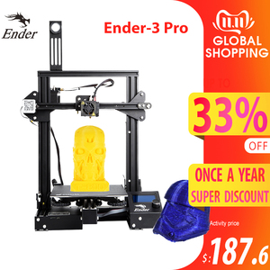 Image 1 - CREALITY 3D Ender 3 Pro Printer Printing Masks Magnetic Build Plate Resume Power Failure Printing KIT Mean Well Power Supply