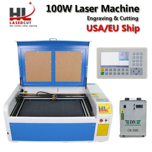 No Tax Ship from Europe 100W Autofocus CO2 USB Laser Cutting Machine With DSP System 1000 x 600mm Laser Cutter Engraver-in Wood Routers from Tools