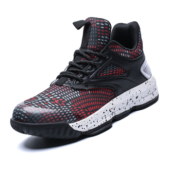 2019 Basketball Shoes for Men Cushioning Basketball Sneakers Men's High-top Outdoor Sport Sneakers Breathable Athletic Shoes New