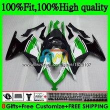 Инъекции для KAWASAKI ZX3R EX300 EX ZX 300R 4BS. 15 ZX-3R ZX300R 13 14 цвета: зеленый, черный, 15, 16, 17, 2013 обтекатели