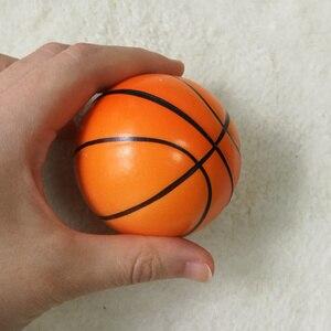 Image 3 - 12 stücke Kinder Weiche Fußball Basketball Baseball Tennis Spielzeug Schaum Gummi squeeze Bälle Anti Stress Spielzeug Bälle Fußball 6,3 cm