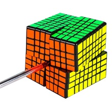 MoYu MF8 8x8x8 Cube Magie MofangJiaoshi MF8 Cube 8 Schichten 8x8 Geschwindigkeit Puzzle Würfel form Twist Pädagogisches Spielzeug Spiel