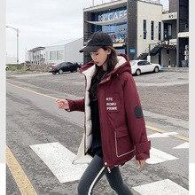 Cotton Women Short Paragraph Loose Llarge Size Student Cotton Jacket Coat Bread Korean Thick Cotton Clothing цены онлайн