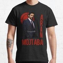 Camiseta masculina a lista negra aram mojtabai camisetas femininas