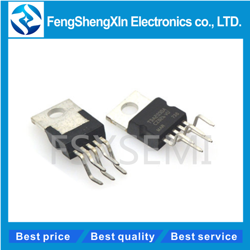 10pcs/lot New <font><b>TDA2030</b></font> TDA2030A TO220-5 AUDIO <font><b>AMPLIFIER</b></font> IC image