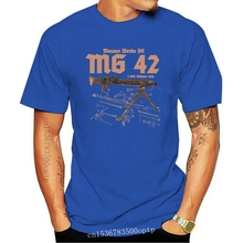 42 Премиум Футболка Mp 40 Mp44 Armee тактическая Новая модная мужская футболка с принтом Футболка с круглым вырезом короткая футболка с круглым выр...