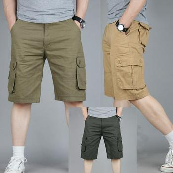 ZNG 2020 Summer new casual shorts men's wear men's summer overalls multi-bagged men's size five-minute trousers