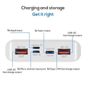 QC 3,0 Быстрая зарядка USB внешний аккумулятор корпус зарядное устройство коробка светодиодный цифровой дисплей свет 8x18650 зарядное устройство коробка для Xiaomi