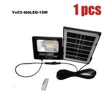 Светодиодный светильник на солнечной батарее, уличный водонепроницаемый светильник, настенный светодиодный светильник для сада, четыре ре...