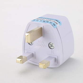 To Universal UK New Converter Gadget Consumer Electronics  UK Plug convert to Universal Plug 3