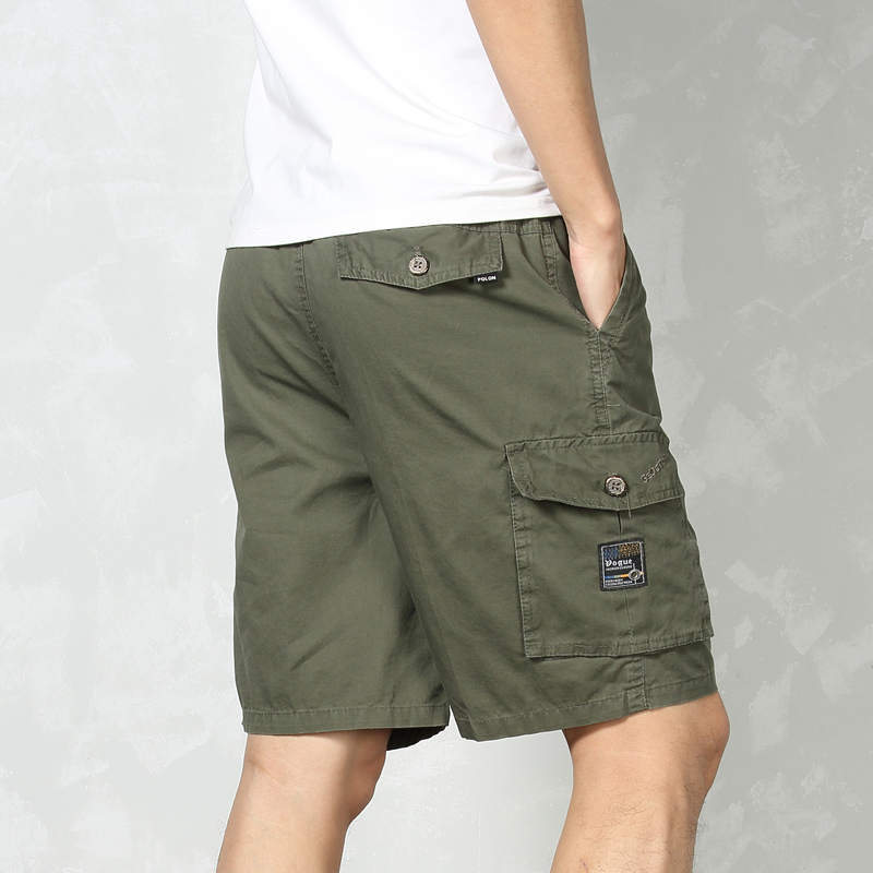 2020 Summer Tactical Cargo Camo Shorts Men Bermuda Camouflage Army Green Military Short Male Casual Cotton Shorts With Pockets