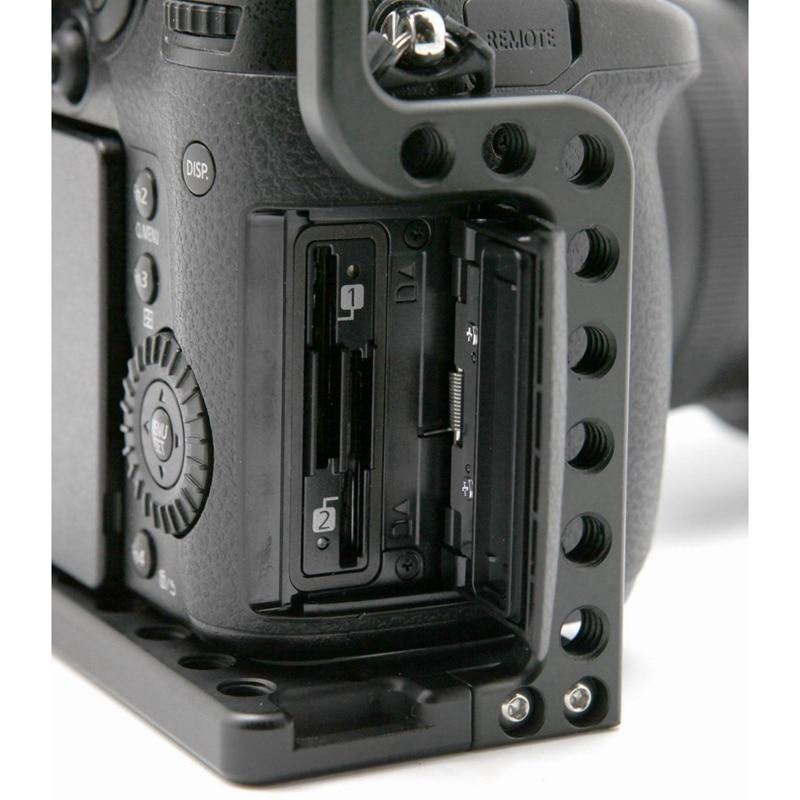 Penstabil kandang kamera, kandang video kamera paduan aluminium untuk - Kamera dan foto - Foto 5