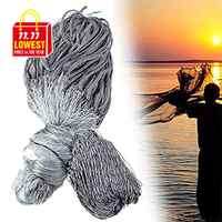 Handmade Finland Fishing Net Gillnet Single Layer Monofilament Fish Network Sticky Mesh Catch 25-60mm Heald Mesh 1.8M*30M