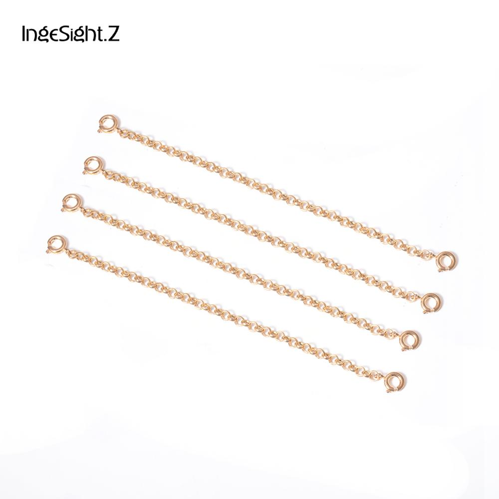 Black 20 Sets Lots 60-70mm Length Necklace Extension Chain with Lobster Clasps for Bracelet Extended Chains DIY Jewelry Making Findings