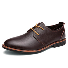 big size men genuine leather oxfords luxury brand italian style male footwear shoes for men Breathable Flat Lace-Up Shoes %6015 yeinshaars men genuine leather oxfords shoes luxury brand italian style male footwear shoes for men breathable flat lace up shoe