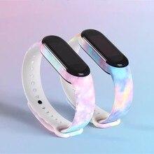 Armband Für Xiaomi Mi Band 5 Band 4/3 Strap Silikon Armband TPU gurt Für xiaomi Mi band5 mi band4 armband miband 5 Strap
