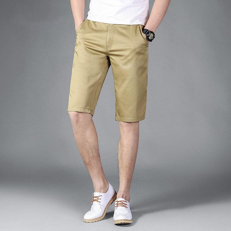 Jeep/Jeep Summer MEN'S Casual Shorts Shorts Bags Medium Waist Cotton Large Size Men's Trousers Beach Shorts
