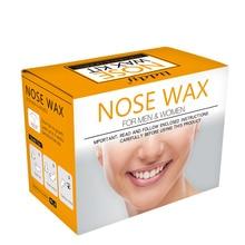 Набор для удаления волос в носу для мужчин и женщин портативный безболезненный триммер для волос в носу CJ666
