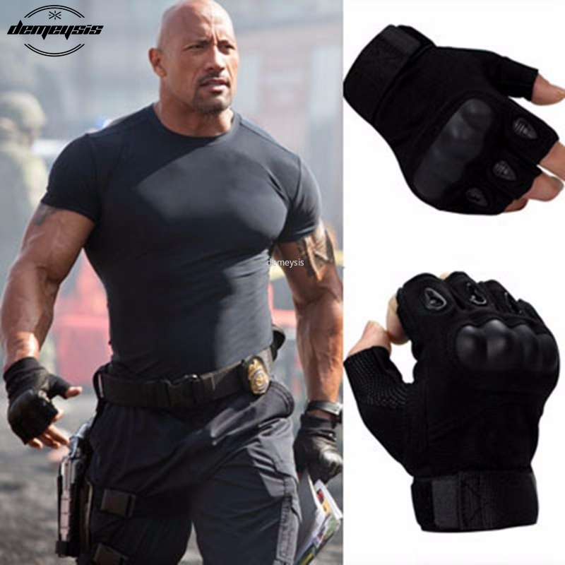 Half Finger Tactical Gloves Military Airsoft Hunting Assault Combat Tactical Full Finger Gloves