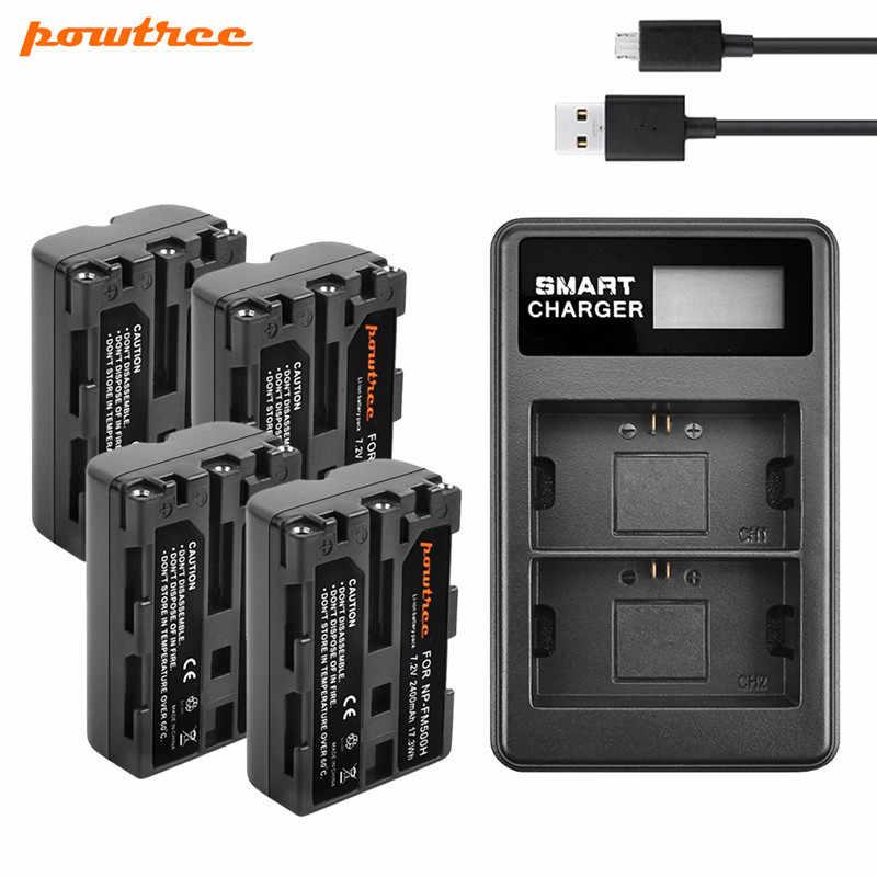 1800mAh NP-FM500H Recharegable Battery For Sony A57 A58 A77 A99 A550 A560 A580