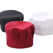 Hat Chef-Cap Kitchen Cooking Adult Adjustable Plain Unisex New Baker Work-Hat Catering