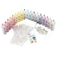 18 Pcs Tulip One Step Tie Dye Kits Vibrant Fabric Textile Permane Paint Colou For Solo Projects Dyes Paintr