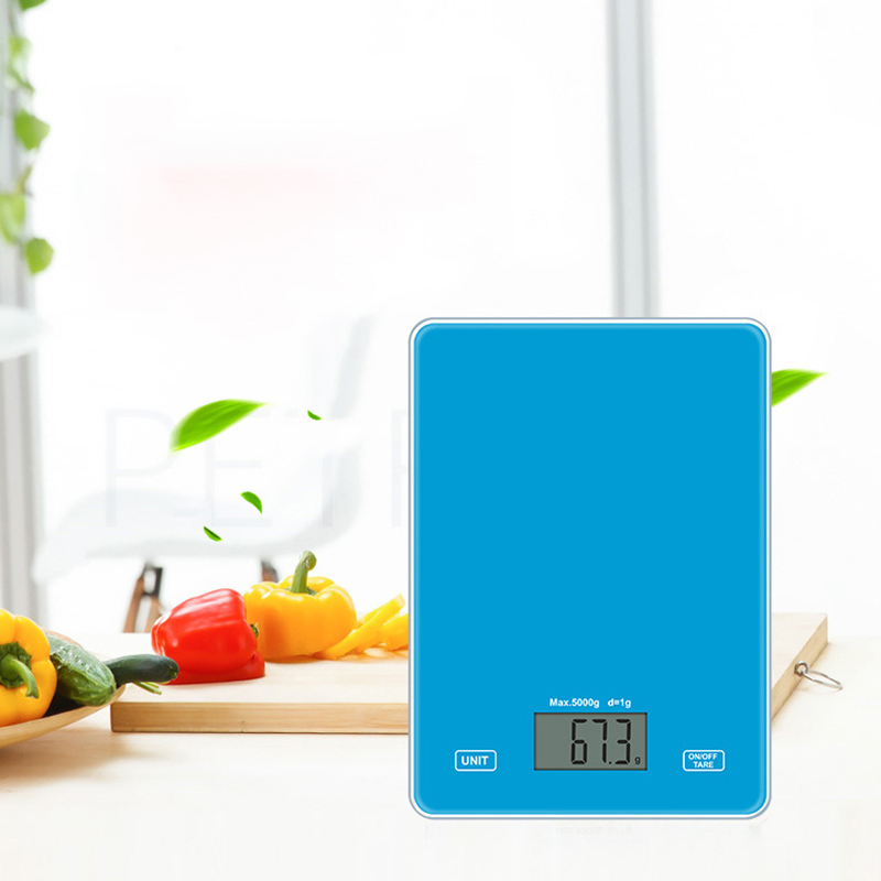 Electronic Kitchen Scale Digital Kitchen Scale LED Food Balance Scale 5KG/1g Kitchen Weight Measuring For Baking Cooking