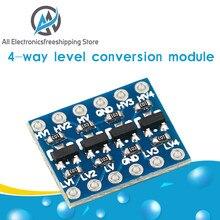 Módulo bidirecional 5v do conversor do nível da lógica iic i2c a 3.3v para arduino
