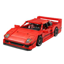 F40 Racing – blocs de traction, voitures de Sport techniques, Supercars, MOC Technique, briques de construction, modèle classique, jouets pour enfants, bricolage pour garçons