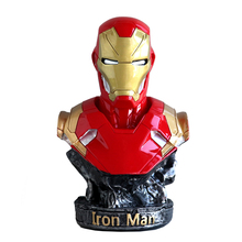 Marvel Infinity War Super Hero Iron Man Chest Bust Action Figure Cosplay Gifts B675