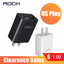 ROCK Pengisian Cepat 2.0 Telepon Usb Charger MTK Cepat Charger 2 Di 1 Teknologi 5V2A 9V2A 12V1. 5A Universal Cepat Charger Dinding(China)