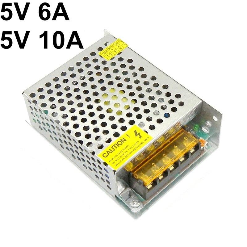 ALIMENTATORE 5V 35W 6A SMSP switching AC 220V STABILIZZATO TRASFORMATORE AC DC