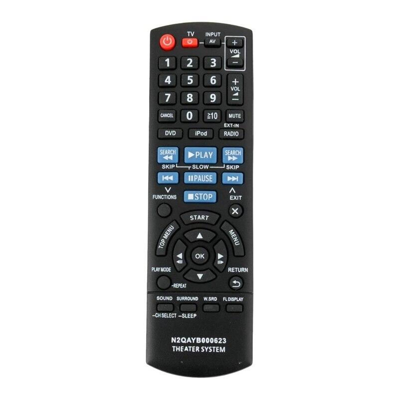 Новый Сменный пульт дистанционного управления для домашнего кинотеатра Panasonic N2QAYB000623 SC PT760 SA PT940 Fernbedienung|Пульты ДУ|   | АлиЭкспресс