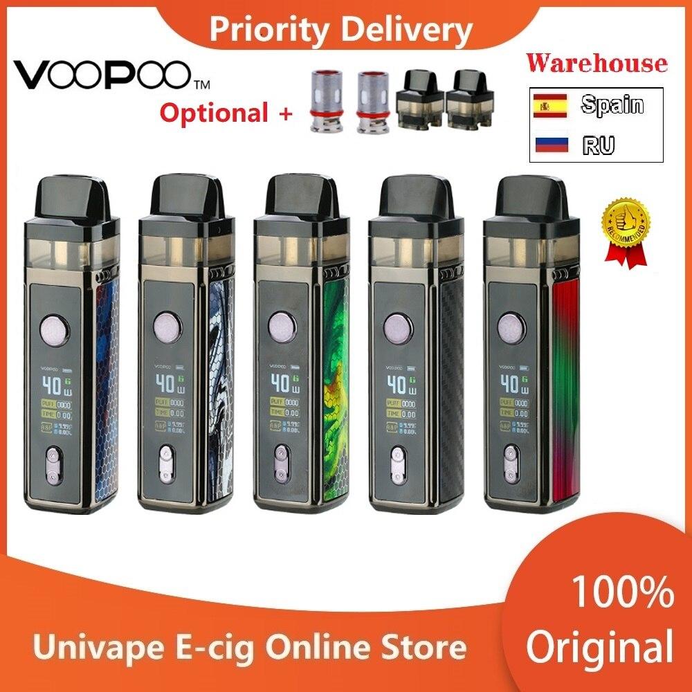 Spain In Stock!! VOOPOO VINCI Mod Pod Vape Kit W/ 1500mAh Battery & 5.5ml Pod Electronic Cigarette Vape Kit Vs Drag Nano/ Drag 2
