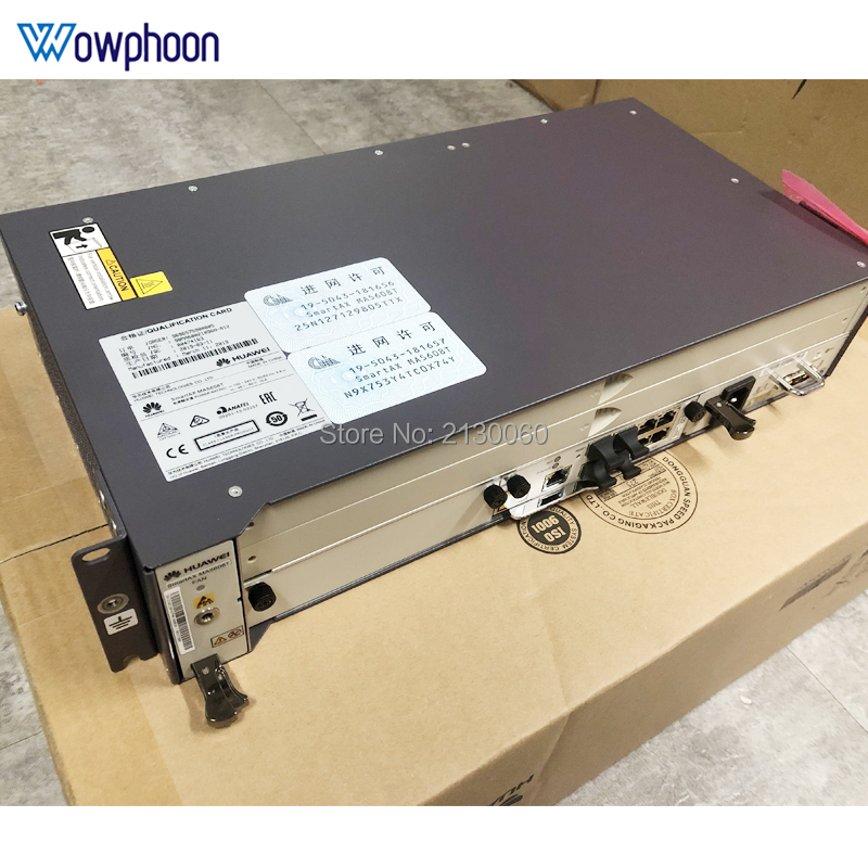 Free Ship By DHL MA5608T Switch 10GE MCUD1 Uplink AC MPWD EPON GPON Switch Secondhand 90% New