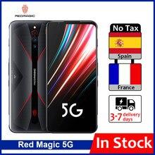 Versão global zte nubia magia vermelha 5g telefone de jogos 6.65