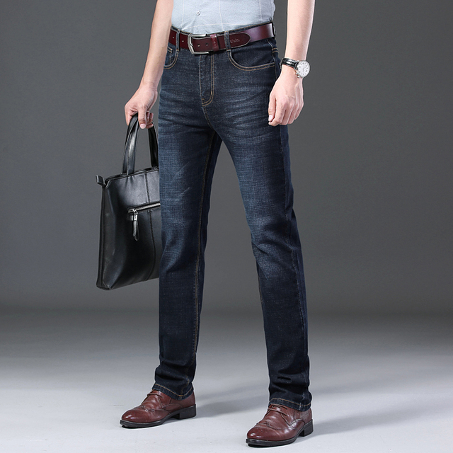 Casual Stretch Slim Jeans 4