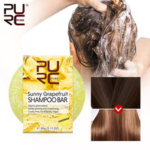 PURC cheveux shampooing savon pur naturel fait à la main cheveux shampooing contrôle huile et nettoyage en profondeur solide shampooing barre soins des cheveux