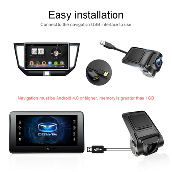 Car DVR 5G HD Wide-angle Lens 2MP Front HD Camera ADAS Intelligent Assistant G Sensor WiFi Connect Car Accessories image