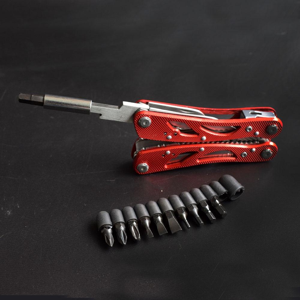 NEWACALOX Multifunctionele vouwtang Draadstripper Kabelsnijder Multi - Handgereedschap - Foto 5