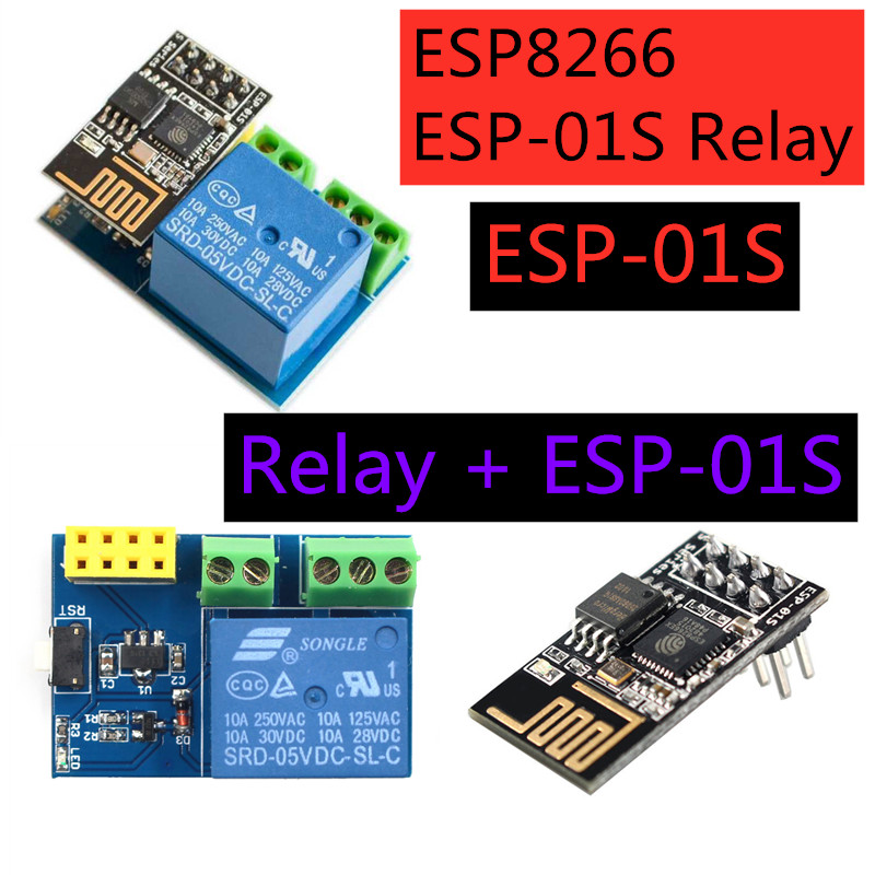 ESP8266 ESP-01S WiFi Relay Module Things Smart Home Remote Control Switch For Phone APP ESP01S Wireless WIFI Auto Module