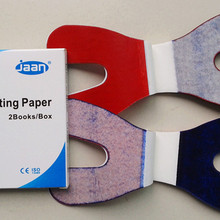Articulating-Paper Dental Thick Horseshoe 12sheets/book 2books/Box 4boxes Double-Sided