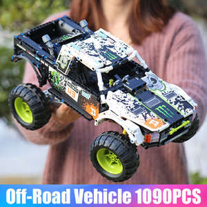 Image 5 - MOC 3320 Technic Car Compatible With 42099 Energy Recoil Baja Truck Building Blocks Assembly Bricks Toys Kids Christmas Gift