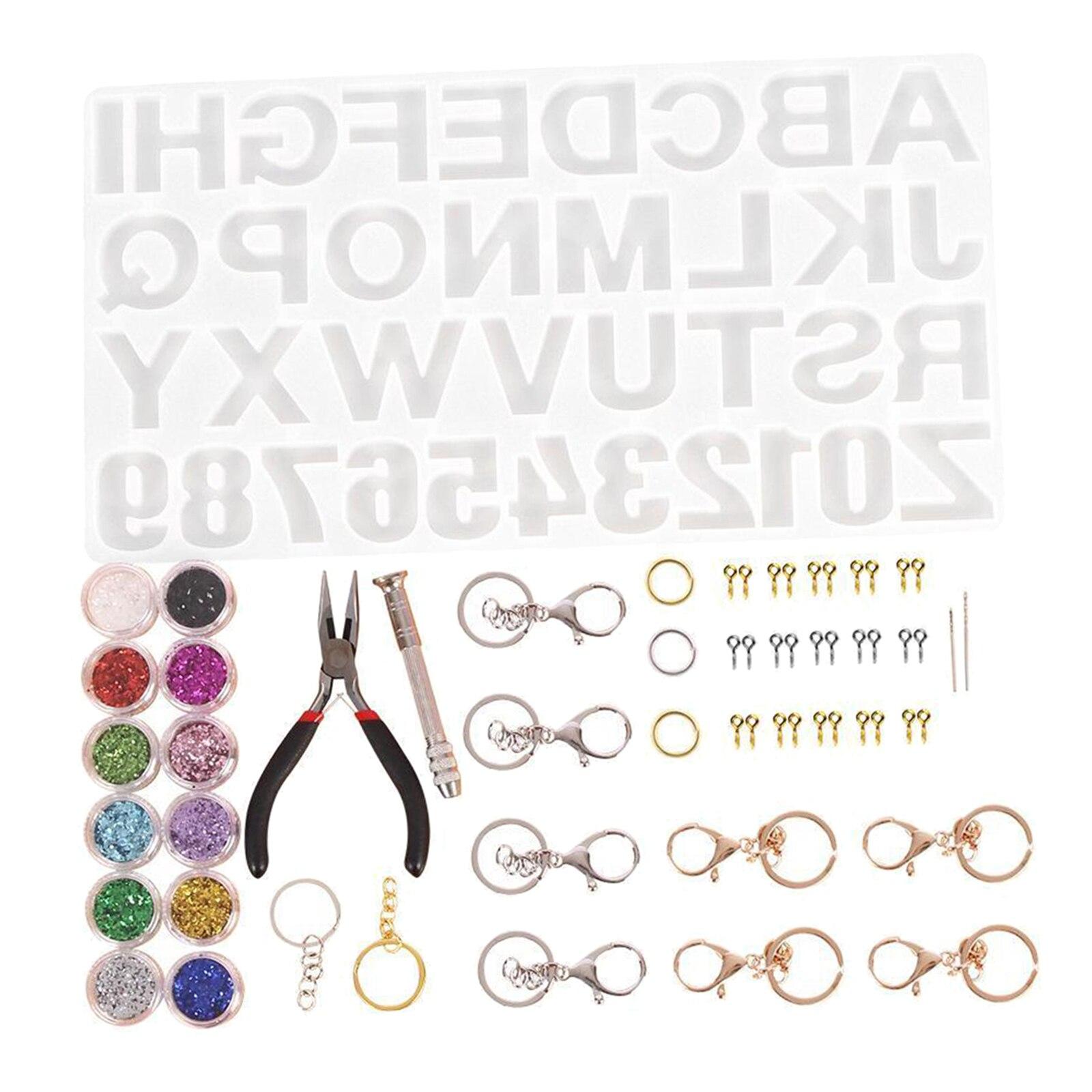 Купить набор силиконовых форм для литья букв в виде алфавита силиконовые