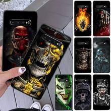 Ruthless Skeleton Customer High Phone Case For Samsung S8 S8 Plus S9 S9 Plus S10 S10 plus S10E lite S10-5G S20 UITRA plus ruthless