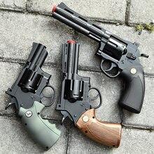 Revolver – jouet pistolet à eau, coquille de lancer Zp5, modèle à main, lancement manuel, bombe en cristal, jouets pour garçons et enfants