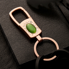 Simple Stylish Car Keychain Metal Waist Key Ring Fashion Pendant for Toyota Corolla Suzuki Sx4 Kia Optima K5 Subaru Forester